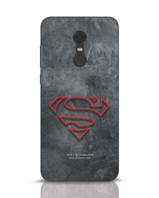 Shop Superman Logo Line Xiaomi Redmi Note 5 Mobile Cover-Front