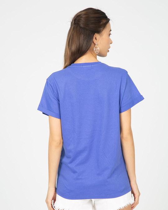 Shop Superman Neon Boyfriend T-Shirt (SML)-Back