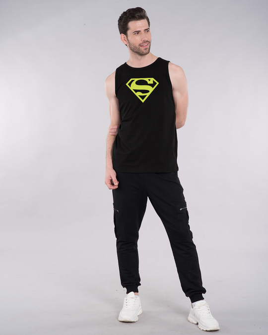 Shop Superman Neon Vest (SML)-Full