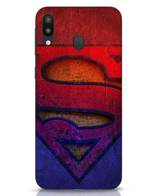 Shop Superman Stone Samsung Galaxy M20 Mobile Cover (SL)-Front