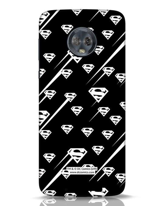 Shop Superman Streaks Moto G6 Mobile Cover (SL)-Front