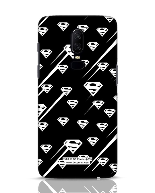 Shop Superman Streaks OnePlus 6 Mobile Cover (SL)-Front