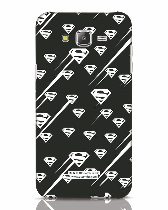 Shop Superman Streaks Samsung Galaxy J7 Mobile Cover (SL)-Front