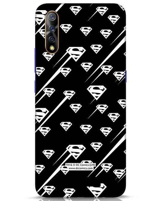 Shop Superman Streaks Vivo S1 Mobile Cover (SL)-Front