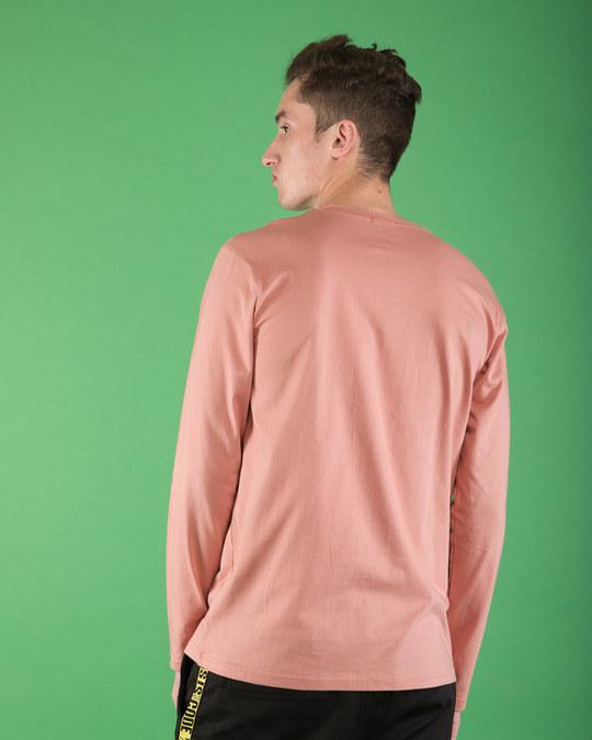 Shop Surprised Pluto Full Sleeve T-Shirt (DL)-Back