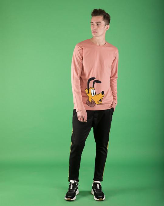 Shop Surprised Pluto Full Sleeve T-Shirt (DL)-Full