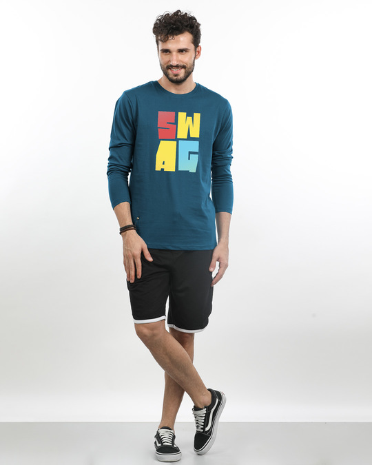 Shop Swag Colourful Full Sleeve T-Shirt