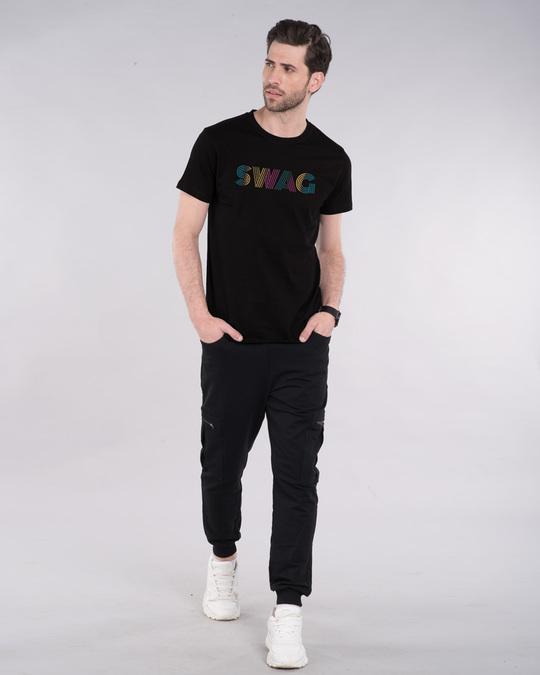 Shop Swag Gradient Half Sleeve T-Shirt-Design