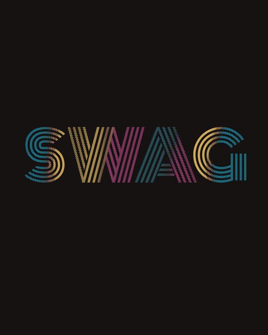 Shop Swag Gradient Half Sleeve T-Shirt-Full