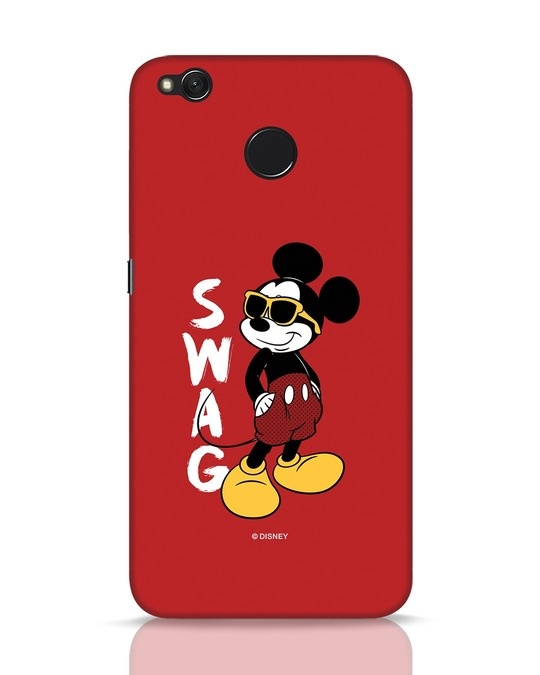 Shop Swag Mickey Xiaomi Redmi 4 Mobile Cover (DL)-Front