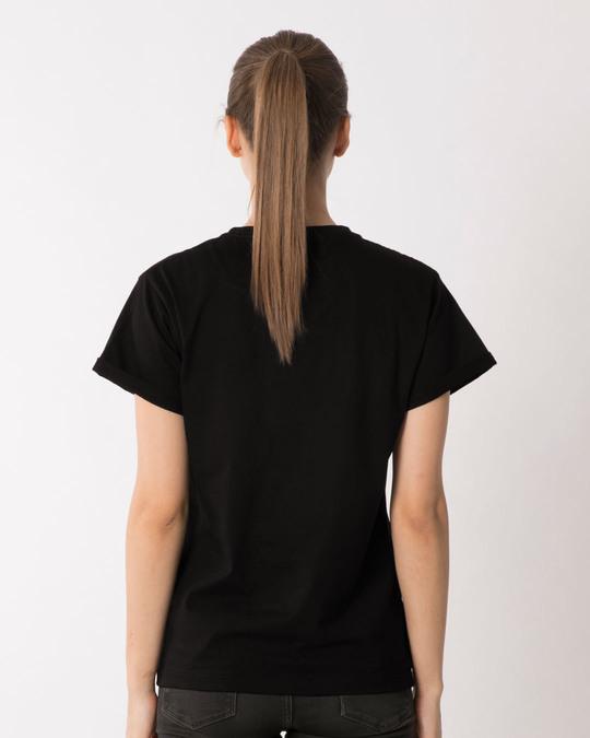 Shop Swagat Nahi Karoge Boyfriend T-Shirt-Full