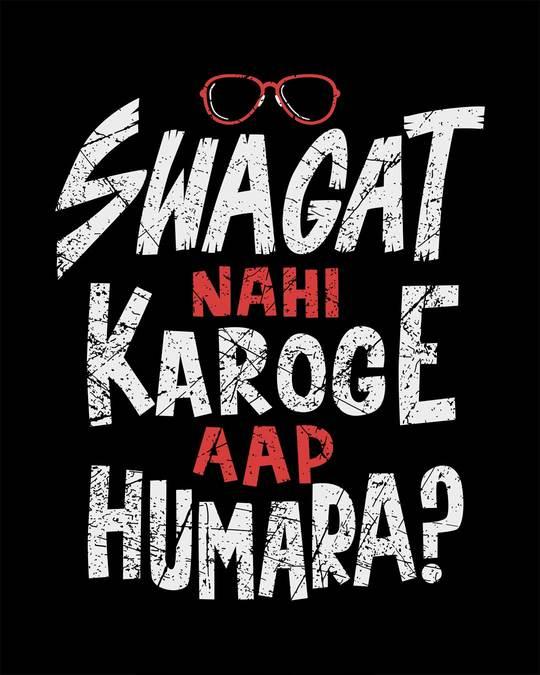 Shop Swagat Nahi Karoge Full Sleeve T-Shirt