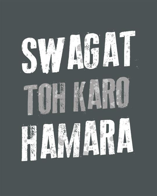 Shop Swagat Toh Karo Hamara Fleece Sweater-Full