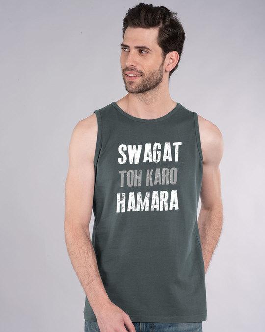 Shop Swagat Toh Karo Hamara Vest-Front