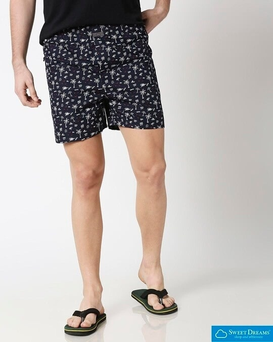 Shop Sweet Dreams Mens Printed Boxers-Front