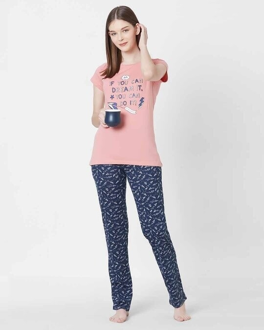 Shop Sweet Dreams Womens Dream Top & Pajama Set-Full