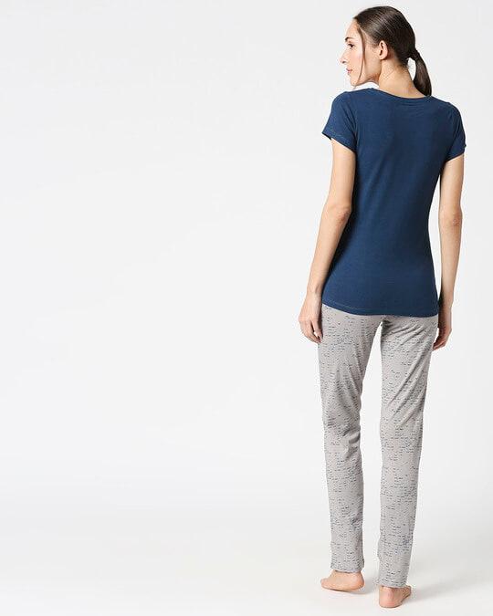 Shop Sweet Dreams Women's love Top & Pajama Set-Design