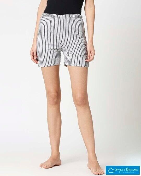 Shop Sweet Dreams Womens Printed shorts-Front