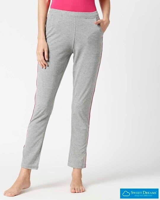 Shop Sweet Dreams Womens Solid Pajama-Front