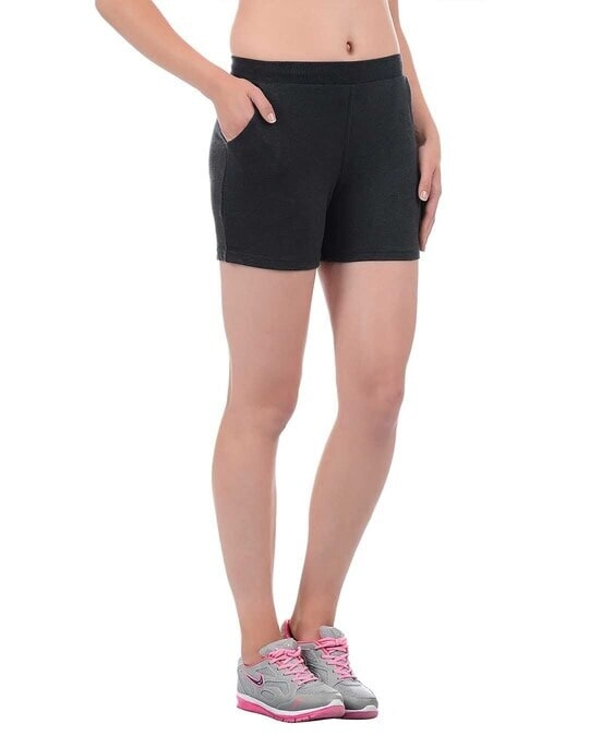 Shop Sweet Dreams Womens Workout buddy shorts-Back