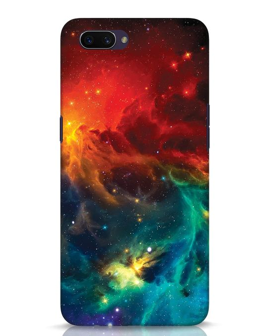 Shop Swirl Oppo A3S Mobile Cover-Front