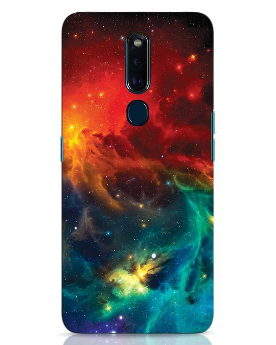 Shop Swirl Oppo F11 Pro Mobile Cover-Front