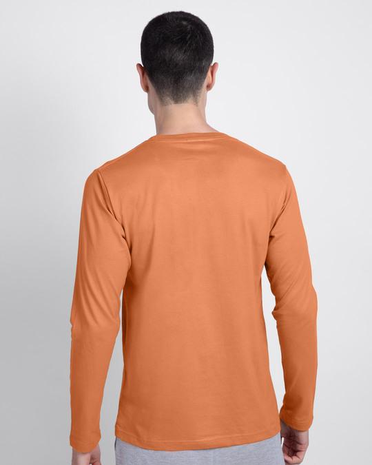 Shop T&J Glitch Men's Printed Full Sleeve T-Shirt (TJL)-Back
