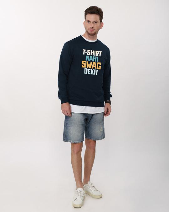 Shop T-shirt Nahi Swag Dekh Sweatshirt-Full
