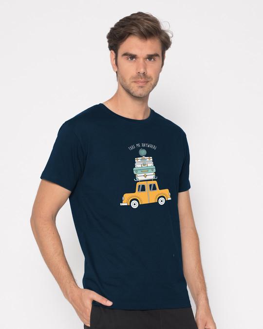 Shop Anywhere Half Sleeve T-Shirt-Design