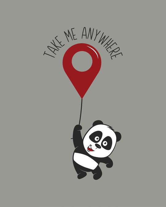 Shop Take Me Anywhere Panda Boyfriend T-Shirt