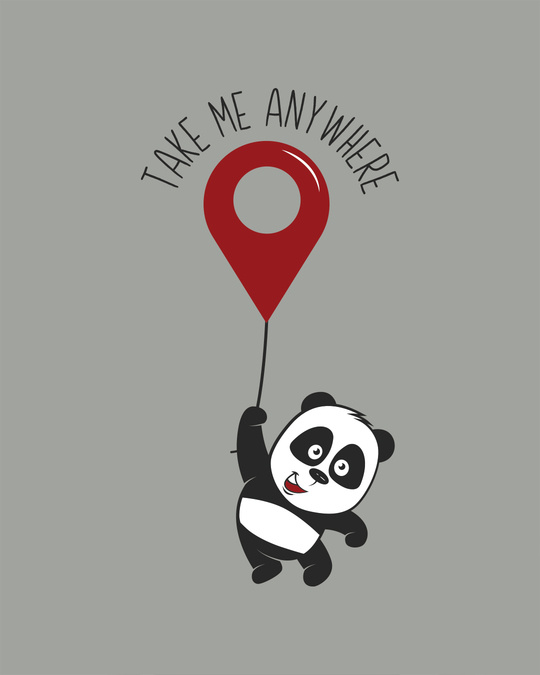 Shop Take Me Anywhere Panda Vest