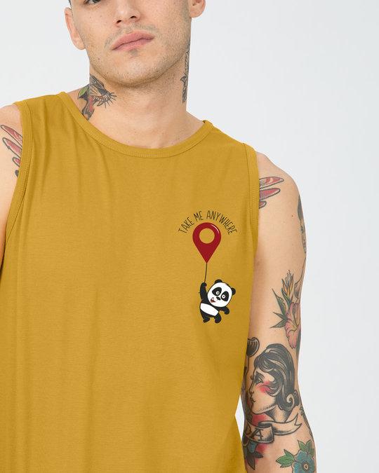 Shop Take Me Anywhere Panda Vest-Front