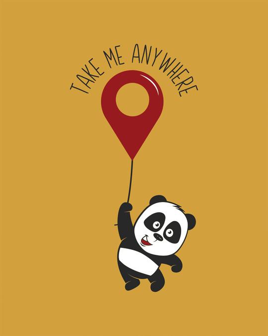 Shop Take Me Anywhere Panda Vest
