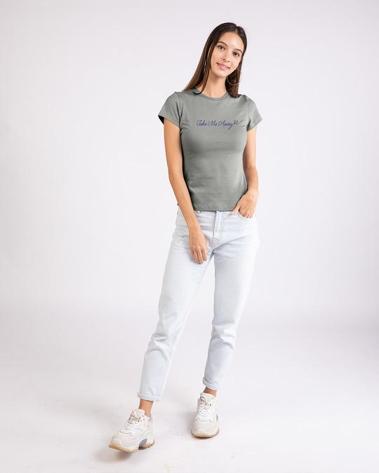 Shop Take Me Away Half Sleeve T-Shirt-Design