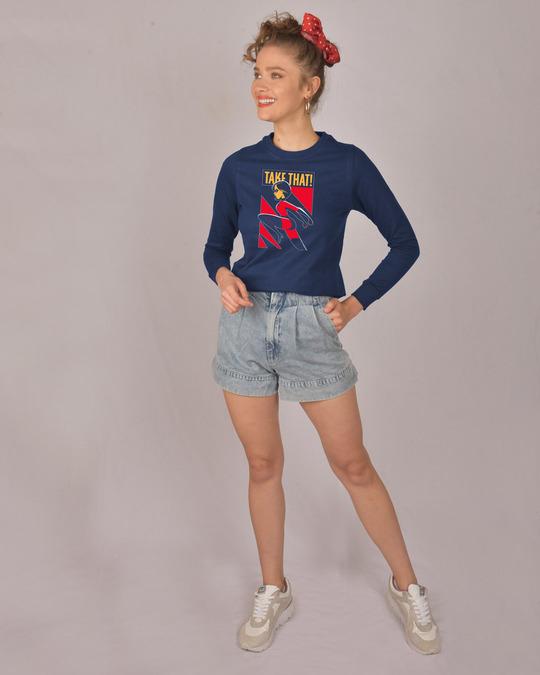 Shop Take The Kick Fleece Light Sweatshirts (DL)-Design