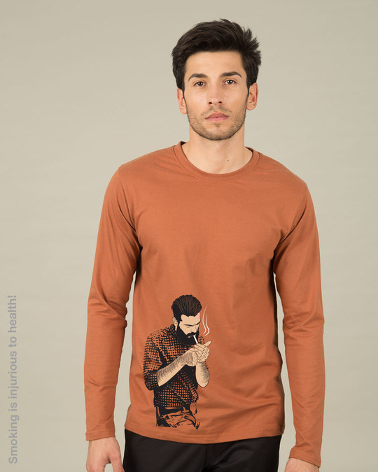 Shop Taking A Break Full Sleeve T-Shirt-Front