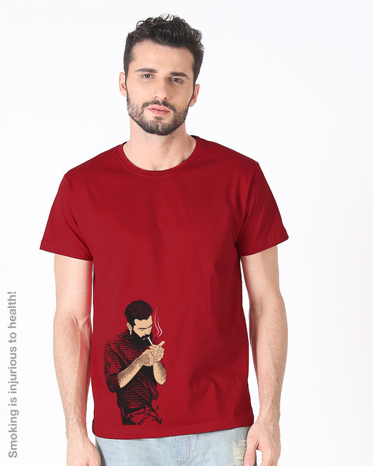 Shop Taking A Break Half Sleeve T-Shirt-Back