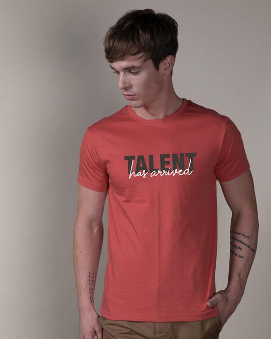 Shop Talent Has Arrived Half Sleeve T-Shirt-Back