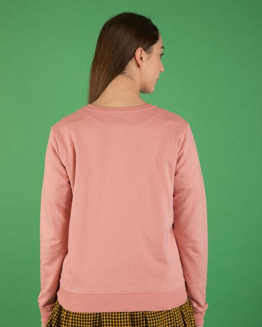 Shop Talk Nerdy To Me Fleece Light Sweatshirts (LTL)-Back