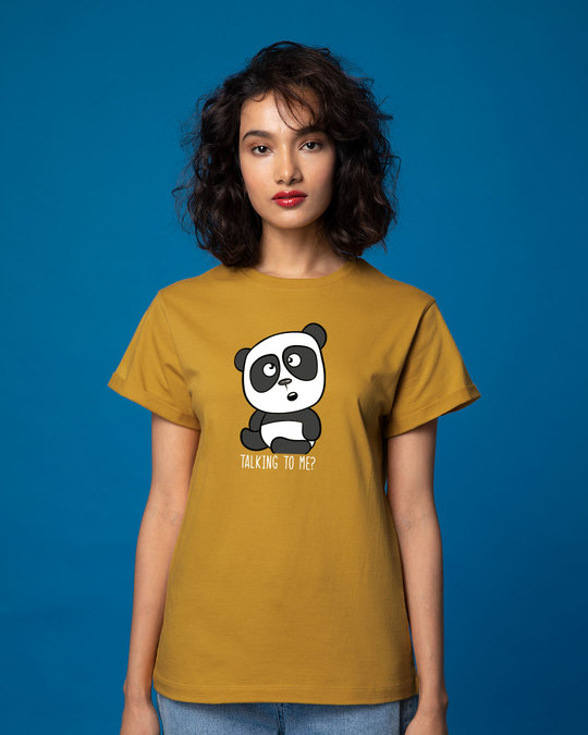 Shop Talking To Me Boyfriend T-Shirt-Front
