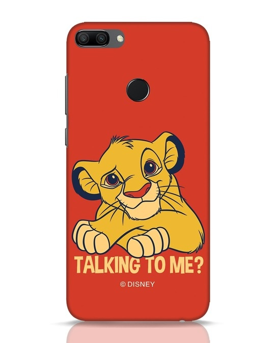 Shop Talking To Me Huawei Honor 9N Mobile Cover-Front