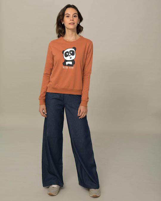 Shop Talking To Me Light Sweatshirt-Design