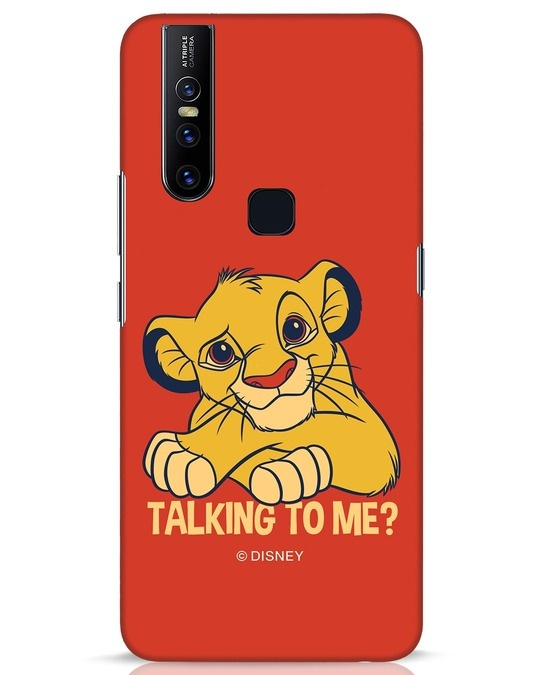 Shop Talking To Me Vivo V15 Mobile Cover-Front