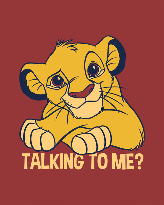 Shop Talking To Simba Boyfriend T-Shirt (DL)