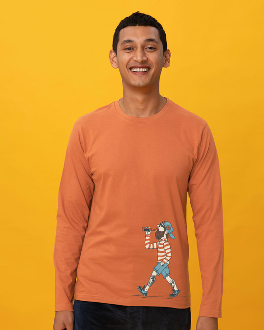 Shop Talli Boy Full Sleeve T-Shirt-Front
