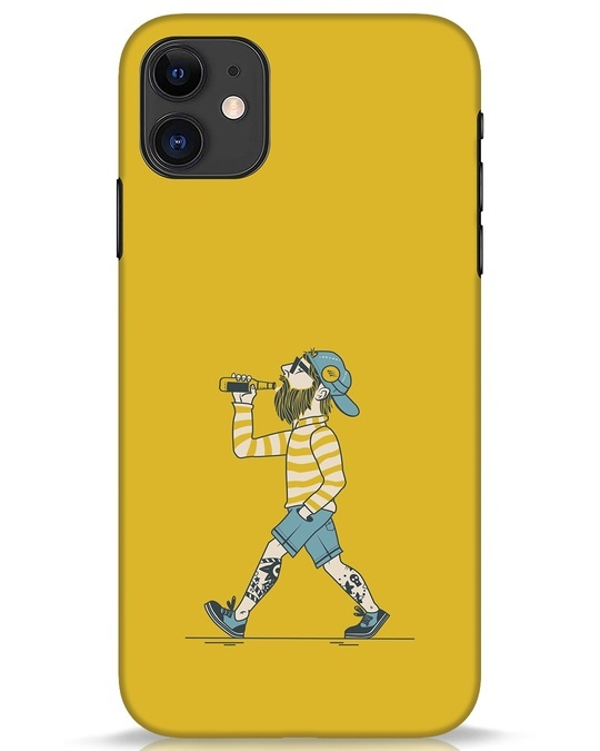 Shop Talli Boy iPhone 11 Mobile Cover-Front