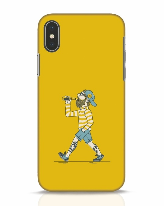 Shop Talli Boy iPhone X Mobile Cover-Front