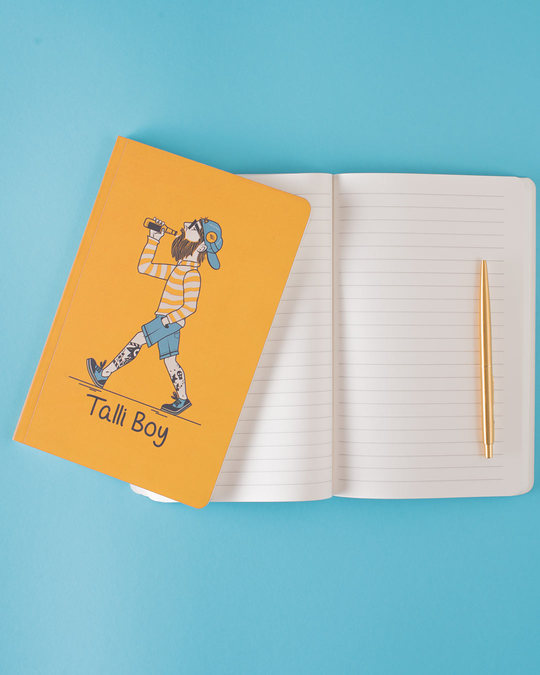 Shop Talli Boy Notebook-Back