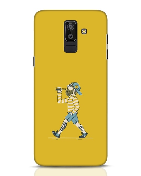 Shop Talli Boy Samsung Galaxy J8 Mobile Cover-Front