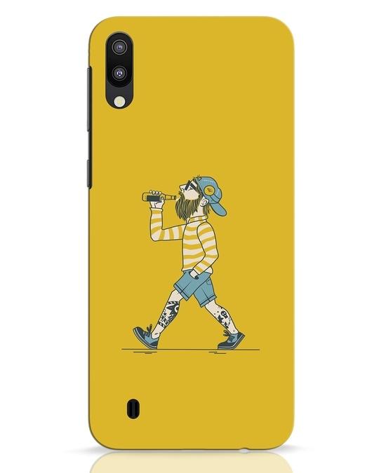 Shop Talli Boy Samsung Galaxy M10 Mobile Cover-Front